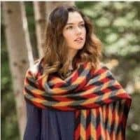 Knitted wrap-free knitting pattern