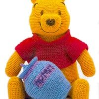 knitted winnie the pooh