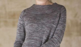 Knitted  Pullover Chatham  for women -free knitting pattern